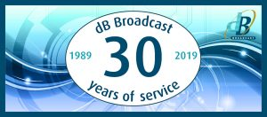 dB Broadcast Reaches 30 Year Milestone