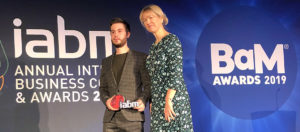 dB Broadcast Engineer Picks up IABM Award